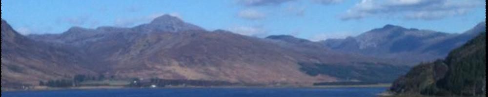 A very sunny Loch Carron